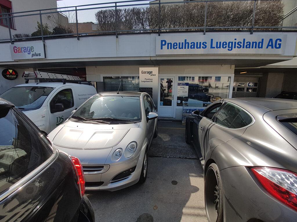 Eingang - Pneuhaus Luegisland AG